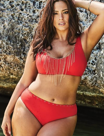 Plus Size Ashley Graham x Swimsuits For All Heiress High Waist Underwire Bikini