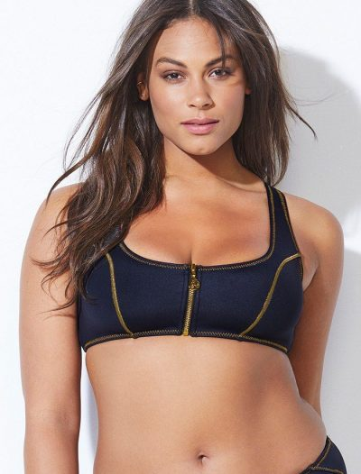 Plus Size Ashley Graham x Swimsuits For All Hotsy-Totsy Bikini Top FINAL SALE