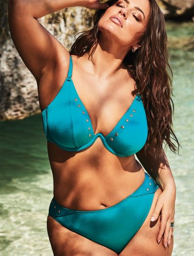Plus Size Ashley Graham x Swimsuits For All Legendary Underwire Bikini