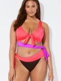 Plus Size Ashley Graham x Swimsuits For All Rewind Monokini Swimsuit