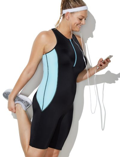 Plus Size Chlorine Resistant Lycra Xtra Life Relay One Piece Aquatard