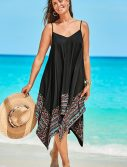 Plus Size Diane Abroad Handkerchief Dress