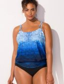 Plus Size Erie Loop Blouson One Piece Swimsuit
