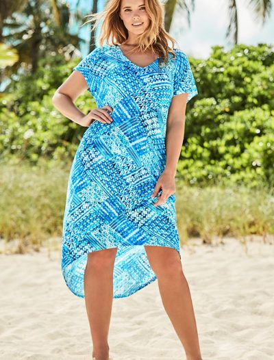 Plus Size Eva Clarity High Low Dress
