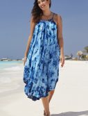 Plus Size Marcella Tie Dye Maxi Dress