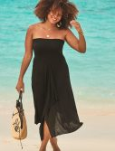 Plus Size McKenzie Black Convertible Dress