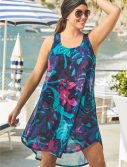 Plus Size Quincy Florence High Low Tunic