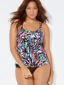 Plus Size Rimini Flared Tankini