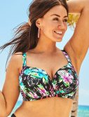 Plus Size Ruler Fiji Bra Sized Underwire Bikini Top