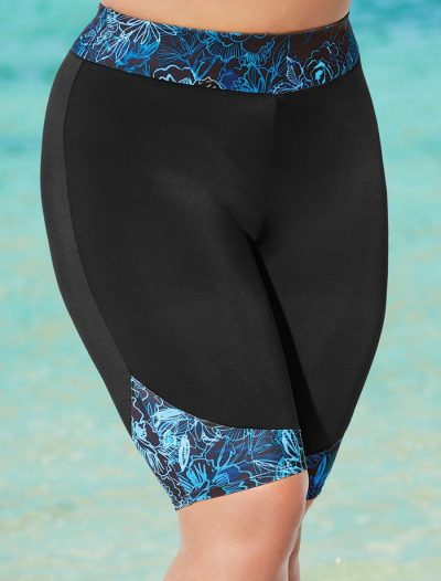Plus Size Swell Long Bike Short